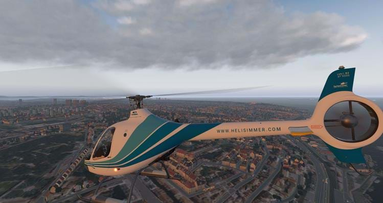 How to fly helicopters • HeliSimmer com
