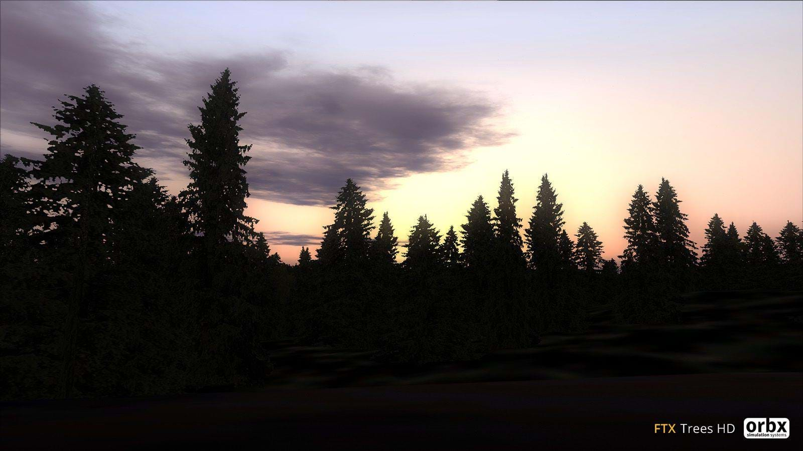 Review: ORBX FTX Trees HD for FSX and P3D • HeliSimmer com