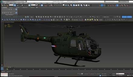 Polychop Simulations audio production for the BO-105 for DCS