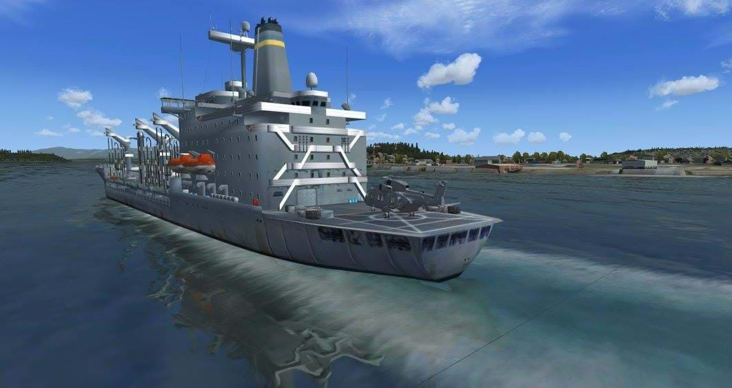 Global AI Traffic Pack: US Navy for FSX and P3D • HeliSimmer com