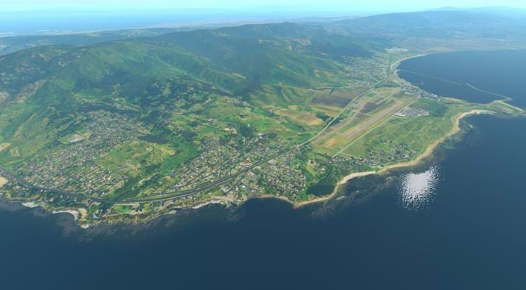 Half Moon Bay - KHAF for X-Plane