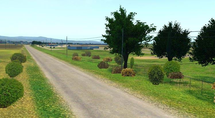 Half Moon Bay - KHAF for X-Plane - roads