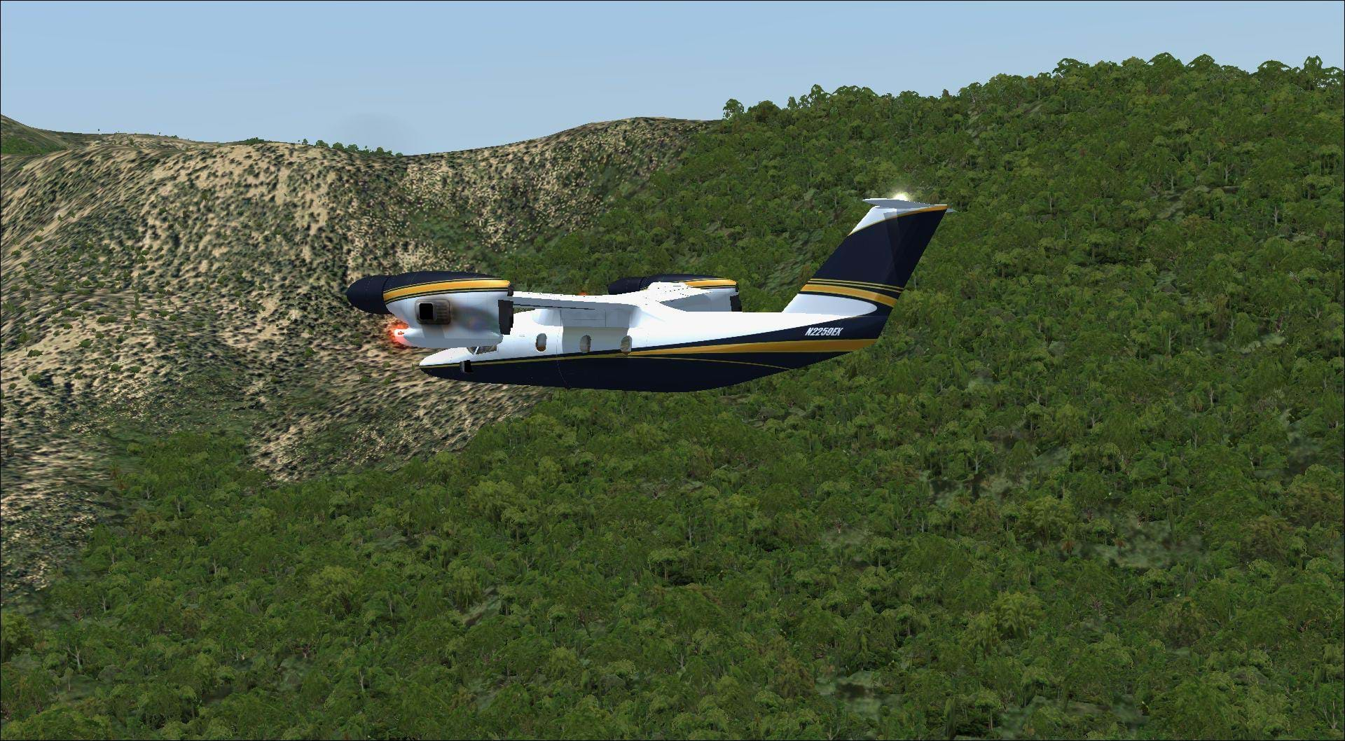 Review: Turbulent Designs TerraFlora for FSX and P3D • HeliSimmer com
