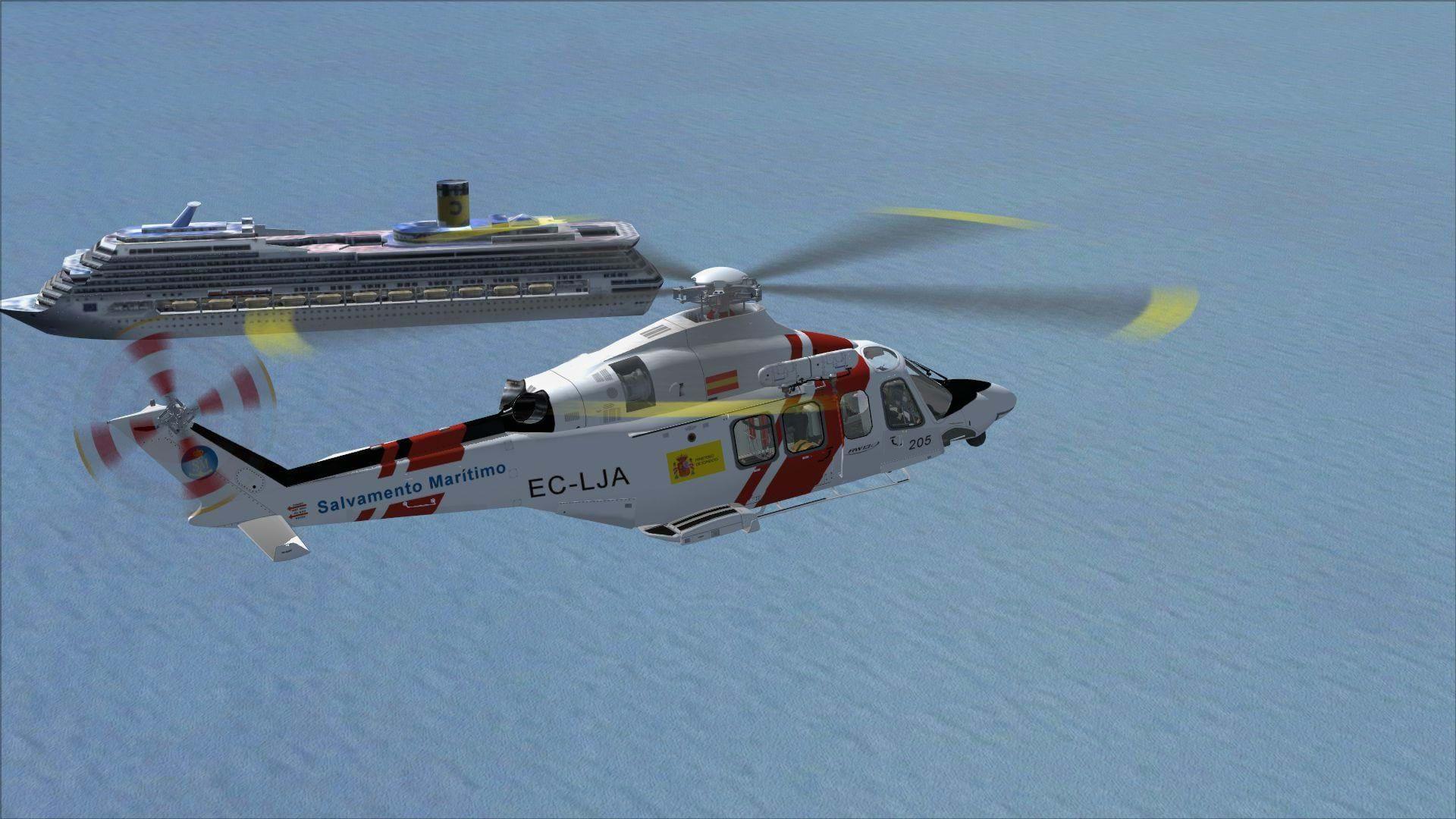 Icarus/Carlos Palacio AW139 SAR v2 BETA • HeliSimmer com