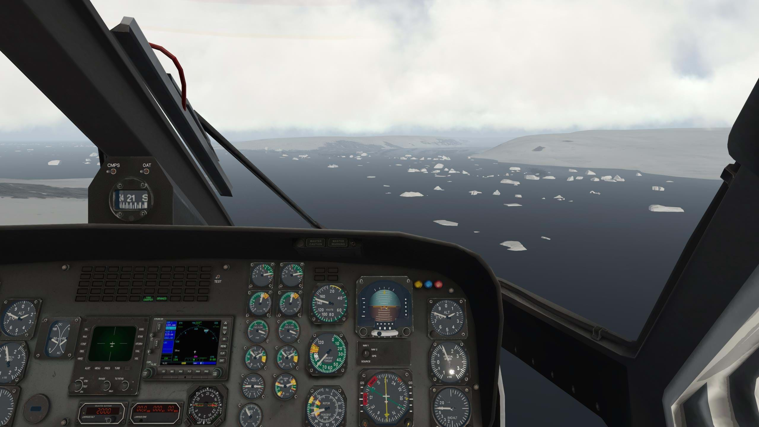 Lost in The Ice: An X-Plane Adventure to Antarctica
