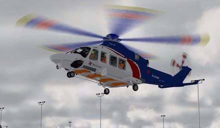 AW139 repaint - Bristow