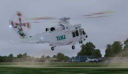 AW139 repaint – TOLL