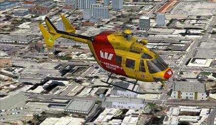 Nemeth Designs updated their BK-117 for FSX and P3D