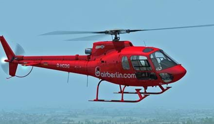 Updated: Nemeth Designs updated their AS350 for FSX and P3D