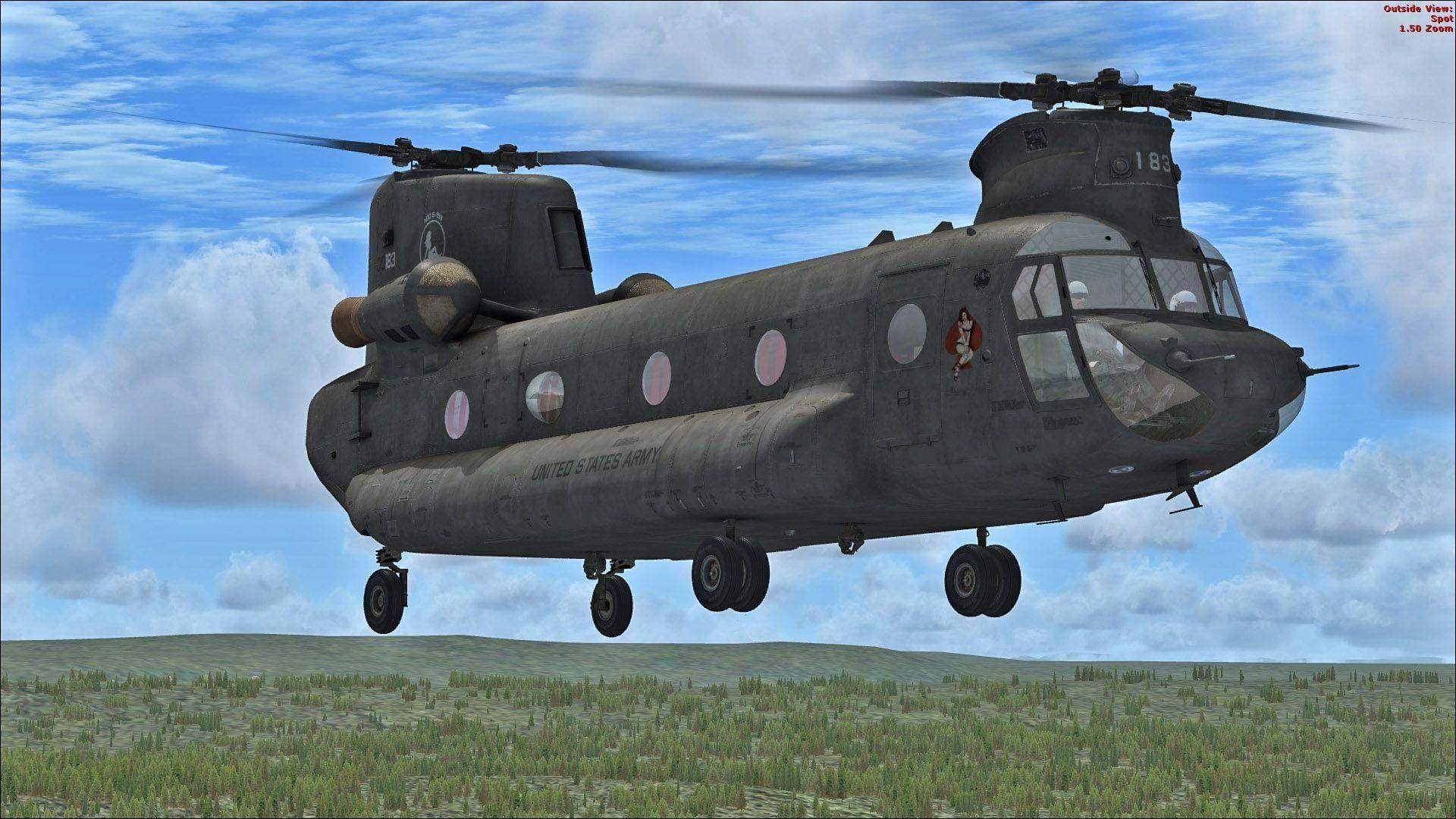 More Nemeth Designs updates: AW109, CH-47 and S-65 Skycrane