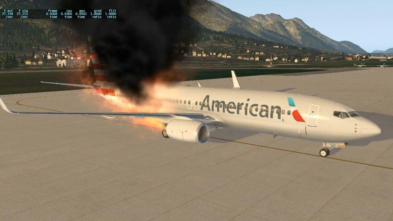 Why X-Plane's new particle system is making me happy