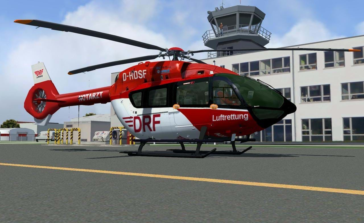 A freeware H145 is being developed for FSX and P3D • HeliSimmer com