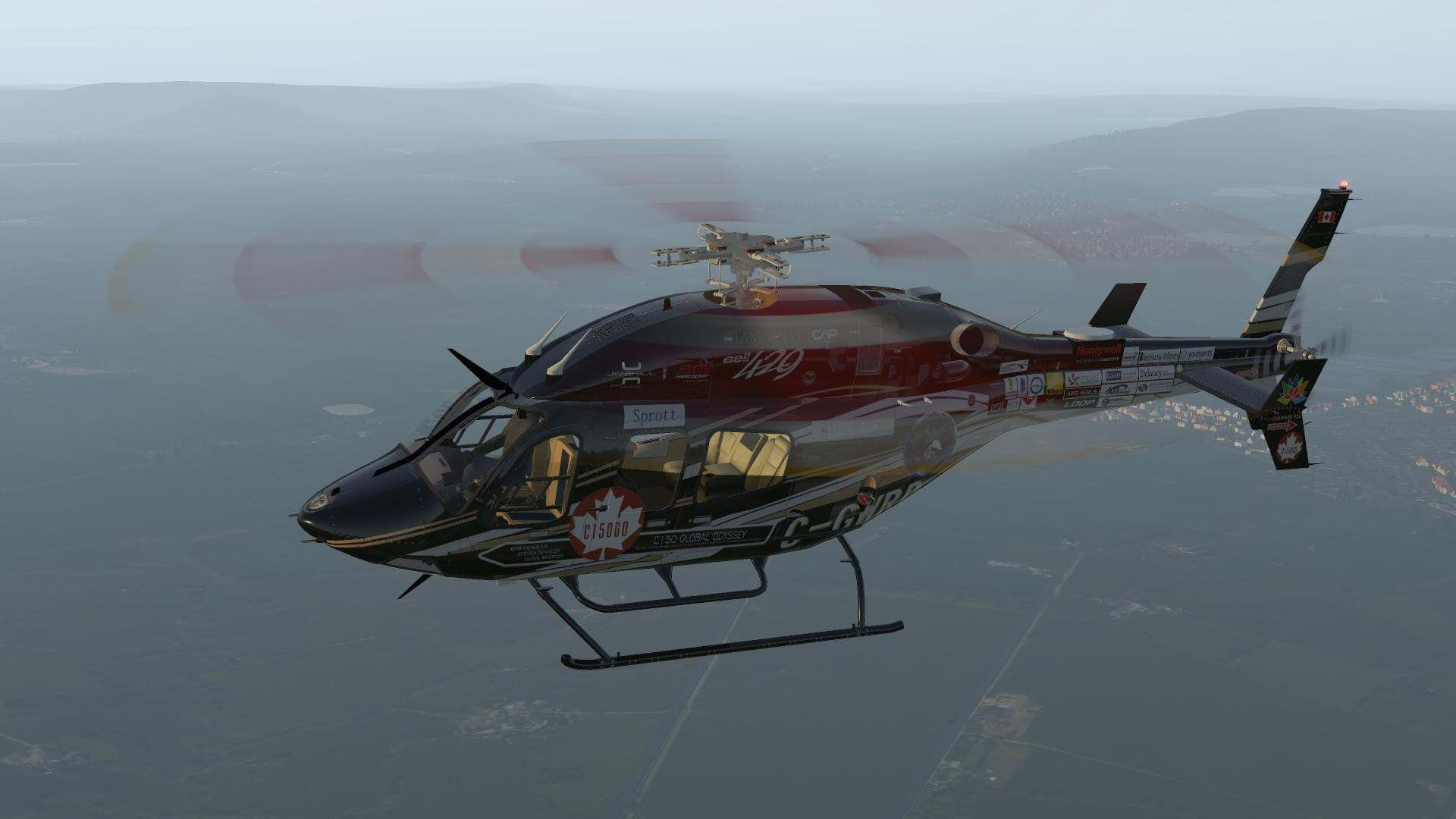 Freeware Bell 429 1 4 for X-Plane is now out • HeliSimmer com