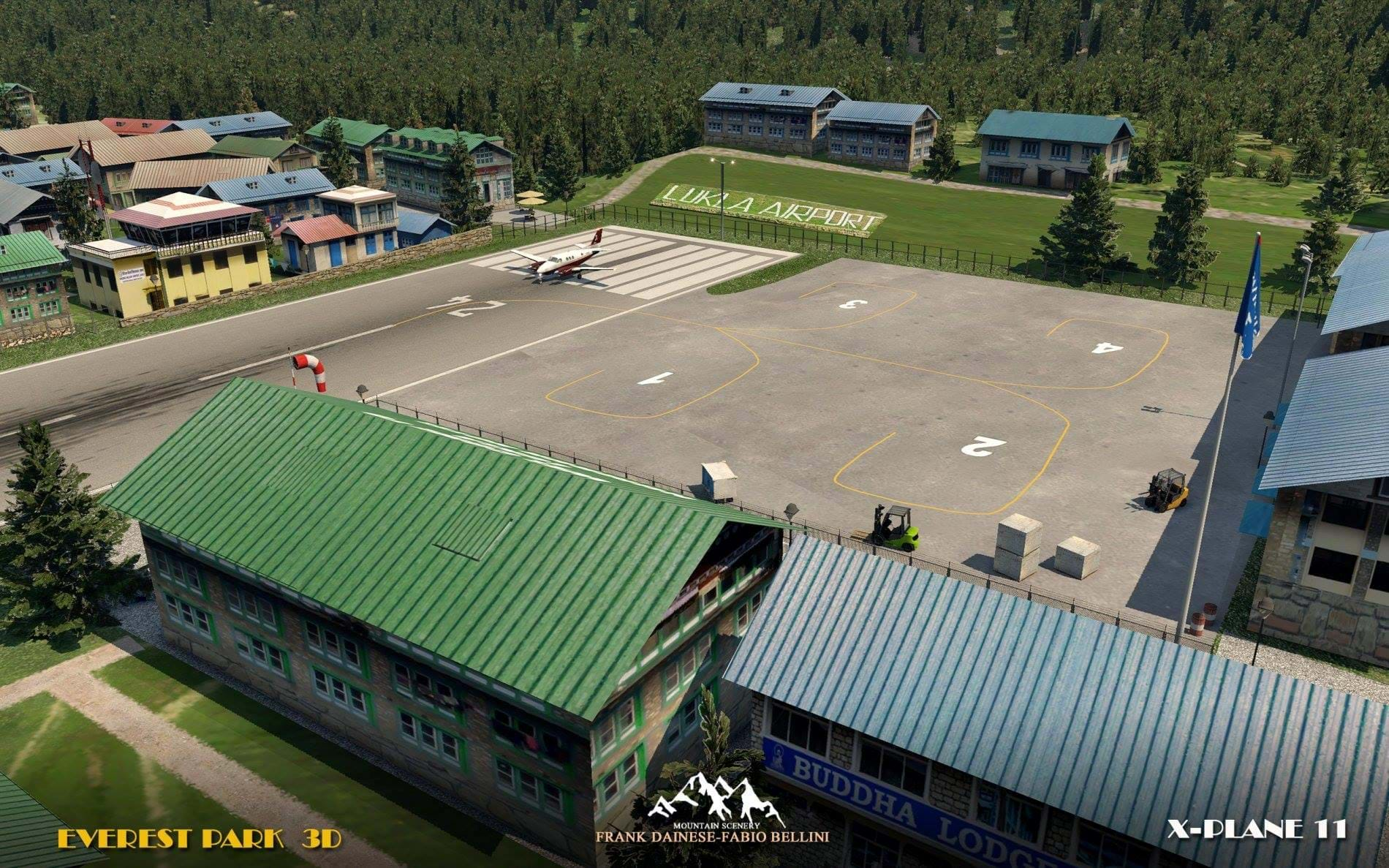 Frank Dainese released more development screenshots of Lukla