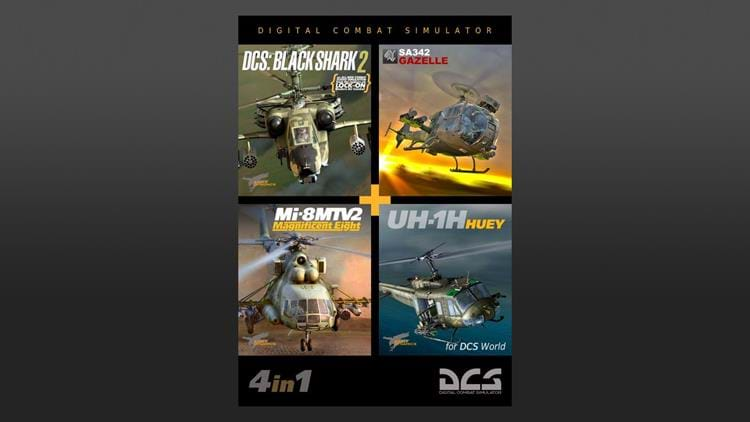 Eagle Dynamics Helicopter Bundle