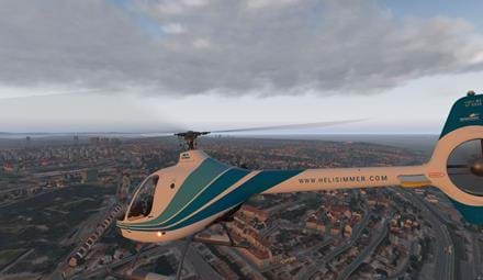 VSKYLABS Guimbal Cabri G2 HeliSimmer livery