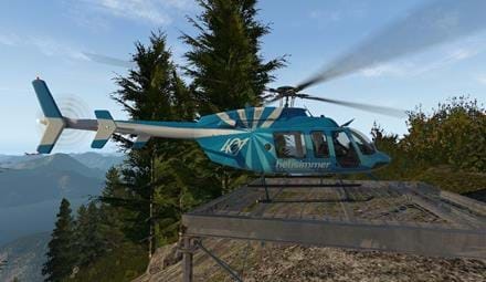 Bell 407 - HeliSimmer Livery