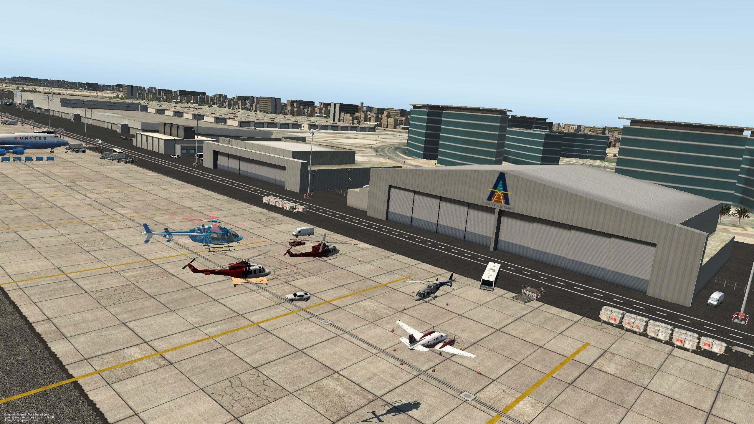 Simmering Airport