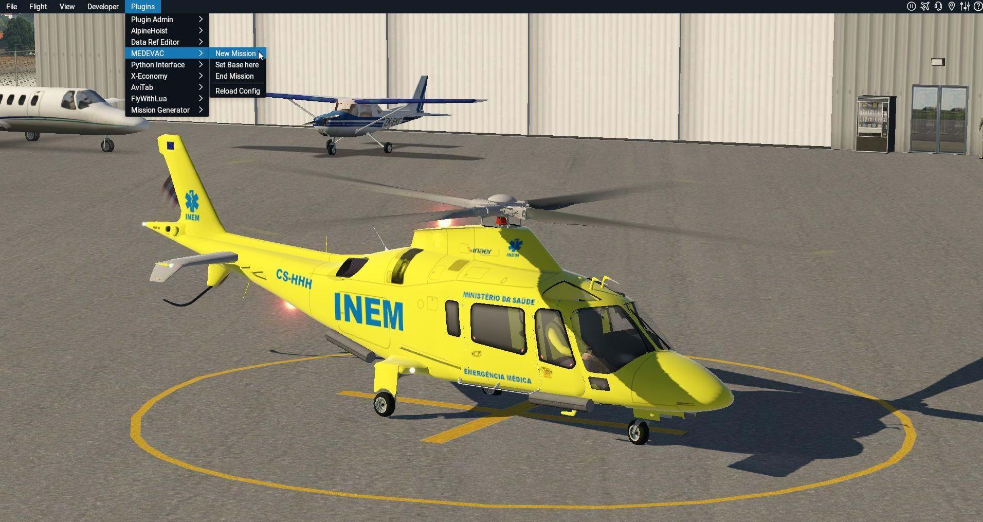 MEDEVAC - Randomly Generated Mission for X-Plane • HeliSimmer com