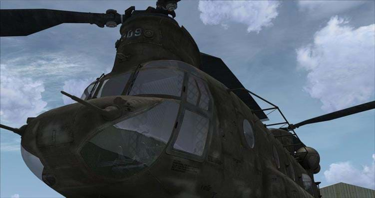 Milviz CH-47 Chinook for P3D
