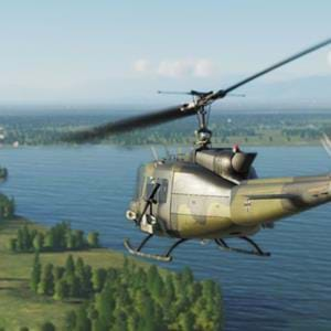 Upcoming mission pack for the DCS UH-1: Worlds Apart
