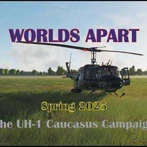 Official trailer for the DCS Mission Pack World Apart for the UH-1 is out