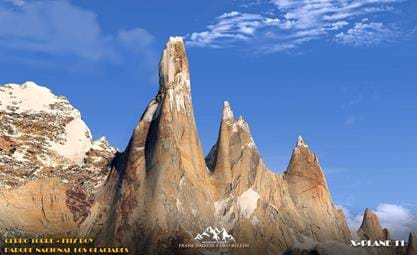 Frank Dainese and Fabio Bellini announce Cerro Torre and Fitz Roy for X-Plane