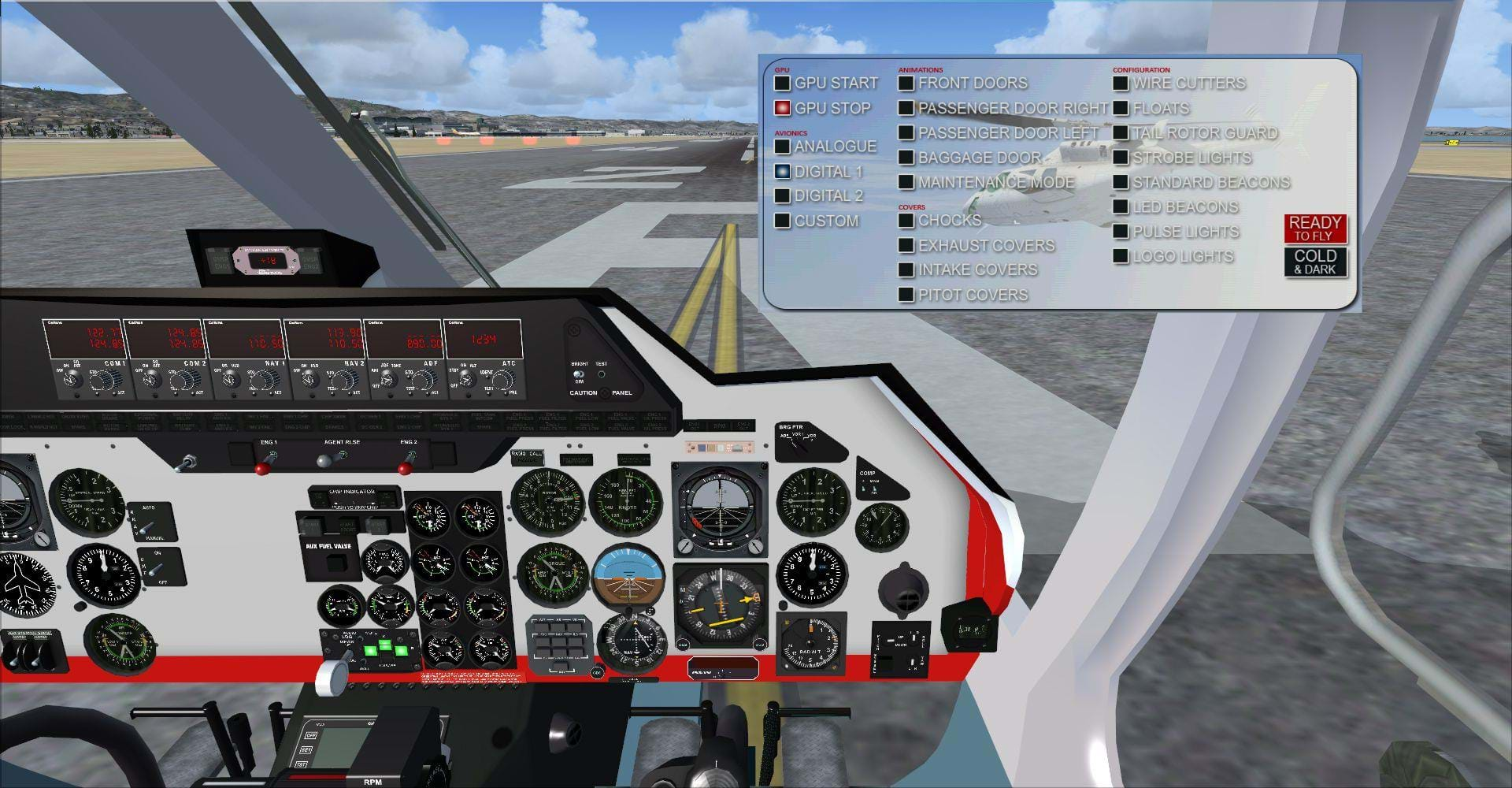 Eagle Rotorcraft Simulations released the Bell 222 and 429