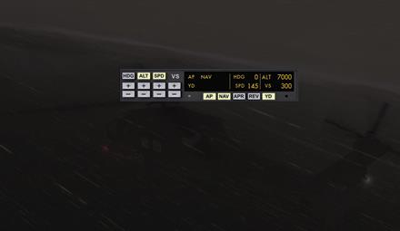 Helicopter autopilot for P3D released