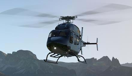 Freeware Bell 429 for X-Plane 11.30 updated