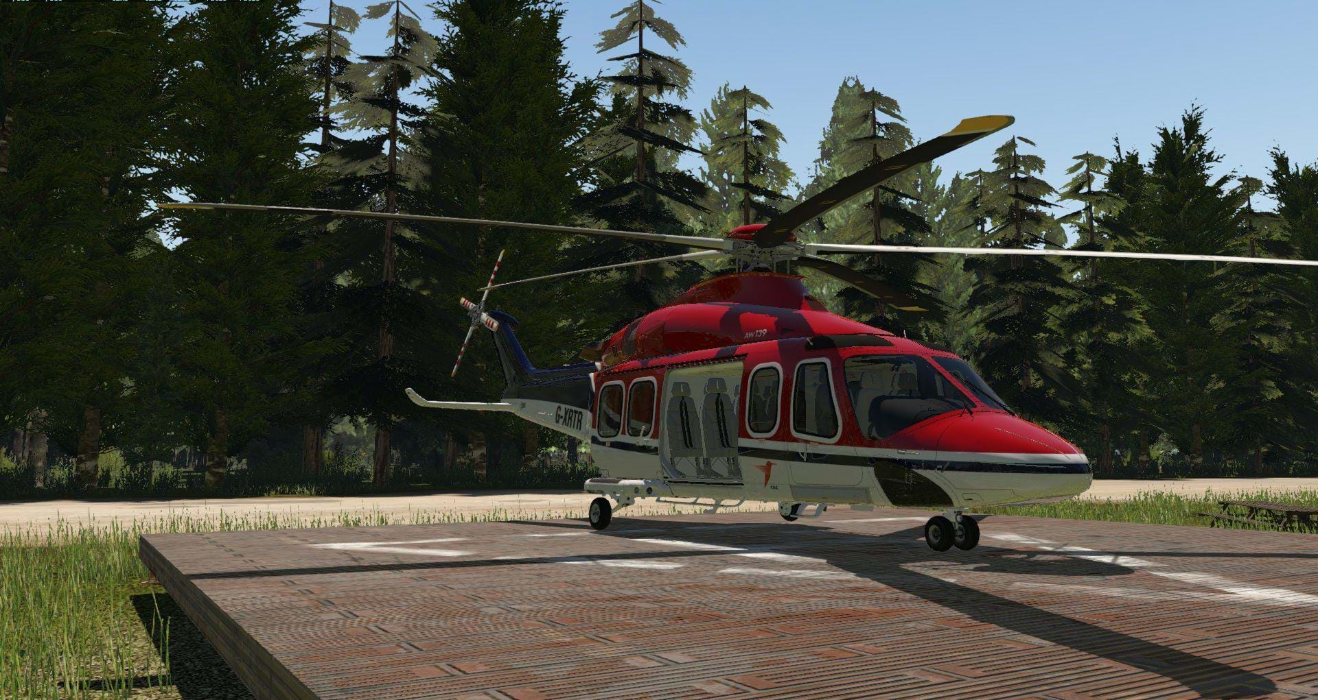 Review: X-Rotors AW139 (Early Access) for X-Plane 11