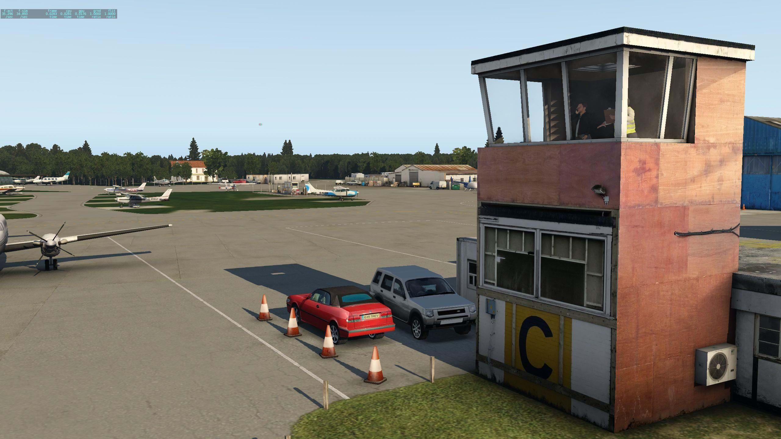 Review: ORBX Elstree Aerodrome (EGTR) for X-plane