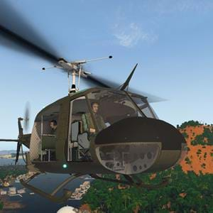 Nimbus Simulations UH-1 Huey - Feature Preview - Customize Airframe