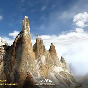 Frank Dainese and Fabio Bellini released Cerro Torre - Los Glaciares 3D for X-Plane