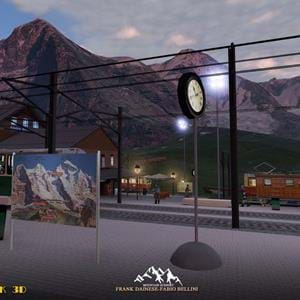 Frank Dainese and Fabio Bellini announced a new scenery: Eiger Park 3D for X-Plane