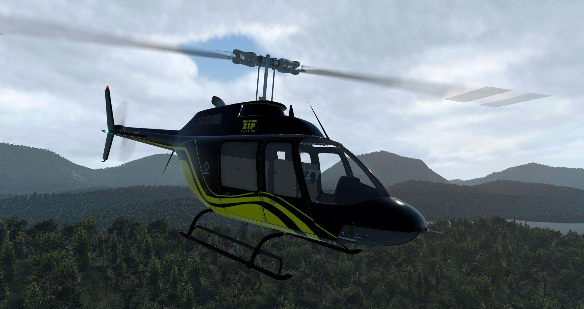 Freeware Bell 206 for X-Plane 11 in the making • HeliSimmer com
