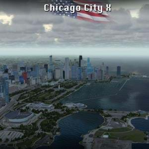 Drzewiecki Design updated their Chicago City X for P3D (coming to X-Plane too) and added helipads