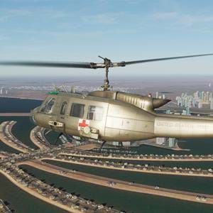 Free DCS mission pack for they UH-1 Huey: Dubai Dispatch
