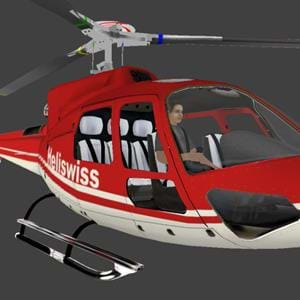 New open source AS350 for X-Plane available
