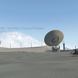 VSKYLABS Cicare 8 for X-Plane (very) sneak peek