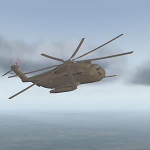 CH-53E Super Stallion under development for X-Plane