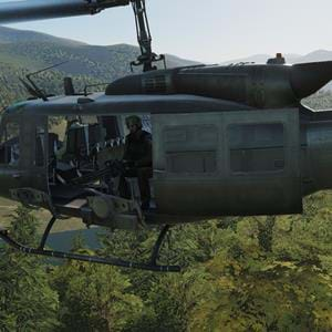 Eagle Dynamics testing UH-1H multi-crew functionality