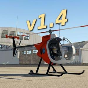 VSKYLABS updates helicopters towards X-Plane 11.40 experimental flight model