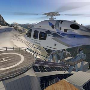 Preview: Frank Dainese and Fabio Bellini's Mont Blanc Group for X-Plane