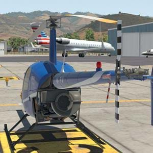 Big Tire Productions also bringing an R22 for X-Plane