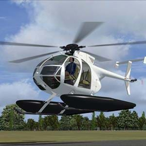 Eagle Rotorcraft Simulations released the MD500D/E for FSX and P3D