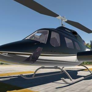 New team shows WIP Bell 222UT for X-Plane