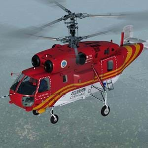 Nemeth Designs released the Ka-32 for FSX and P3D
