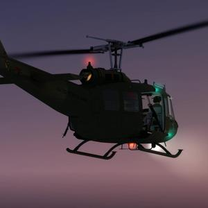 Huey Tuning Pack for Milviz's Huey Redux for FSX and P3D is out