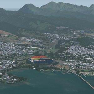 Freeware Oahu, Hawaii for Aerofly FS2 in the making